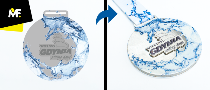 Volvo Gdynia Sailing Race medals