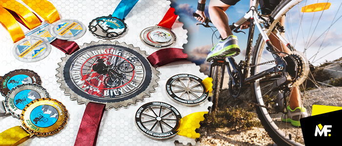 5 ideas for cycling medals
